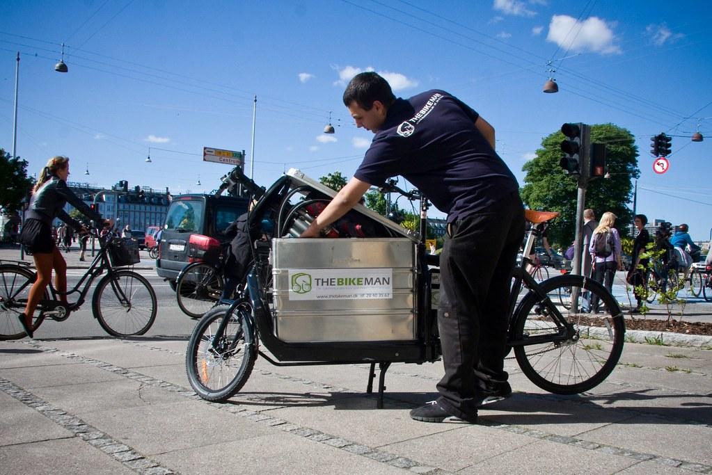 The Bikeman | Mobile bicycle repair man.