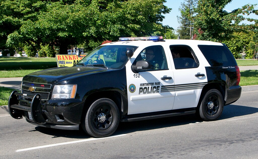 Huntington Park Police Suv Cars That Took Part In The