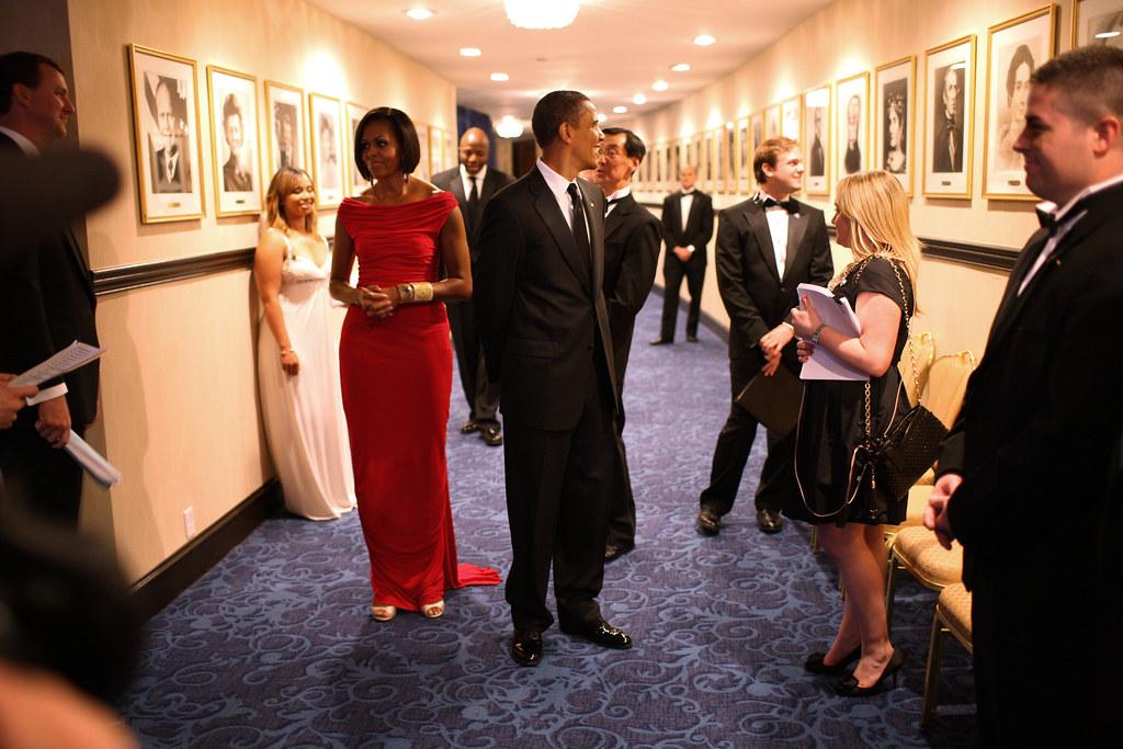 P050110LJ-0538 | President Barack Obama and First Lady ...