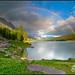 Rainbow Sunset (medicinelake.jpg)