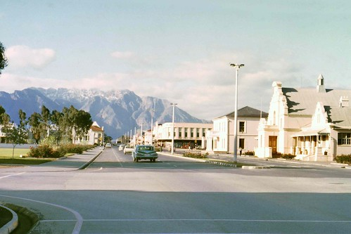 Worcester South Africa  city photos : High Street ,Worcester, South Africa , 1961 | High street lo ...