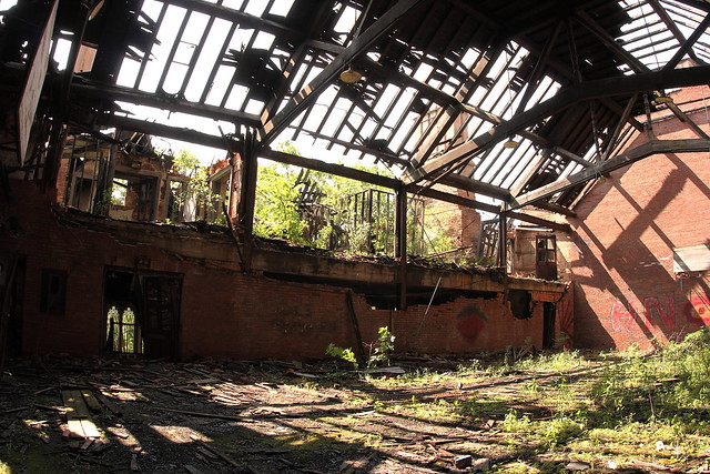 Upper Floor Gymnasium Abandoned City Methodist Church Gary Indiana Flickr Photo Sharing
