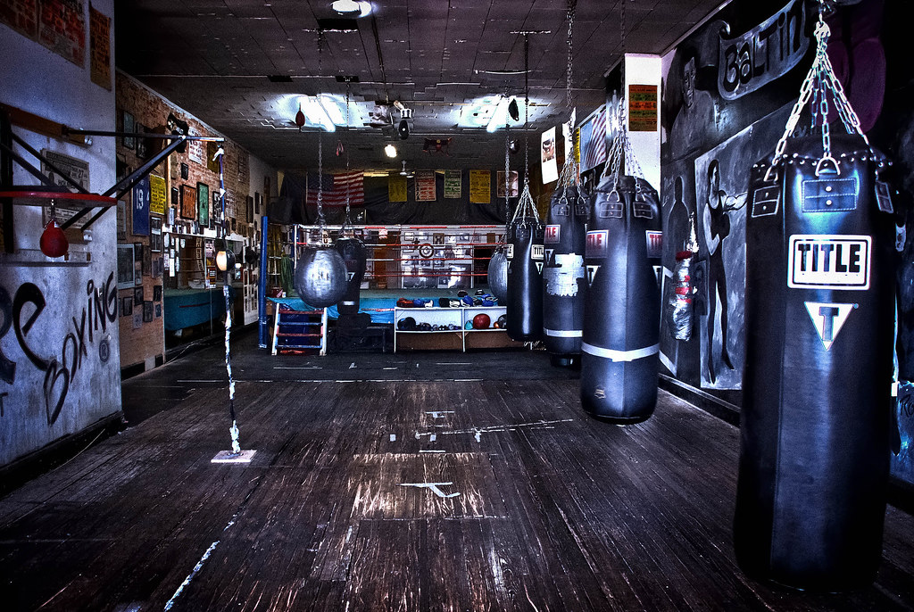 Baltimore boxing gym hdr another of the same shot