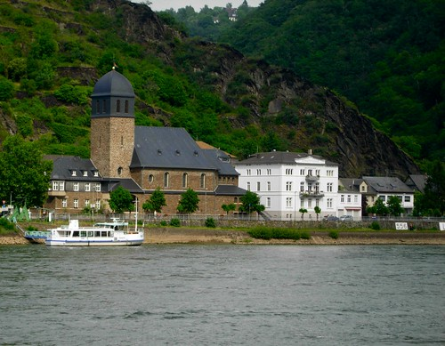 Houses along the Rhine River | by mayakamina