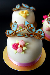 Miniature Sugar Paste Cakes | by Mad Baker