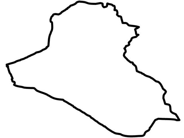 Iraq Outline IRAQ Silhouette Antonio TwizShiz Edward Flickr - Iraq map outline