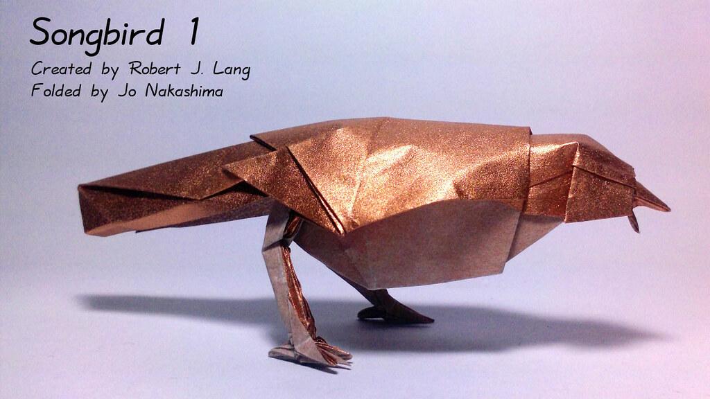 Songbird 1 (Robert J. Lang)   Songbird 1 (Robert J. Lang ... - photo#38