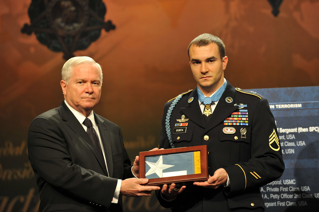 Medal Of Honor Flag The Secretary Of Defense For The