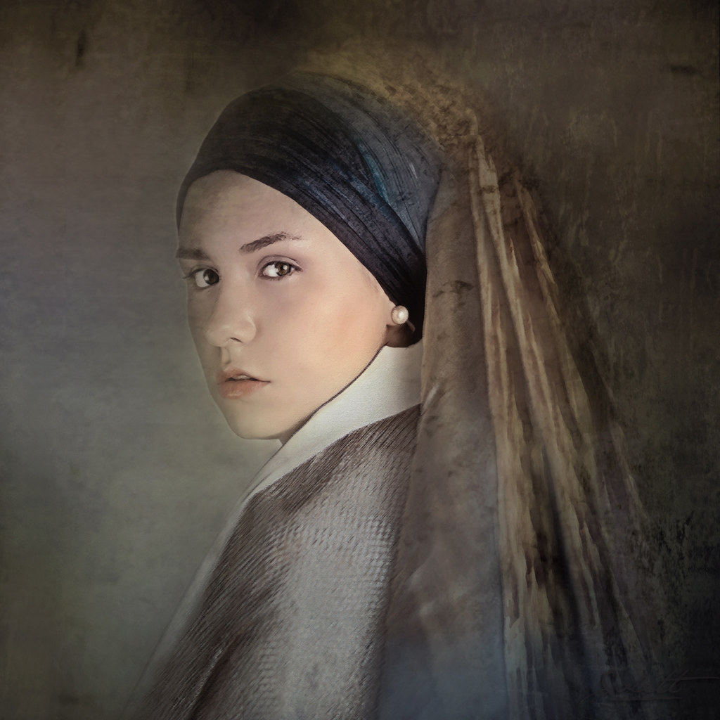 Girl with a Pearl Earring | The painting Girl with a Pearl ...