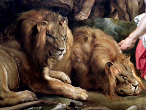 Daniel in the Lions' Den, c. 1614/1616 (Detail)