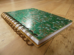 Circuit Board Notebook | by Sam Rayner