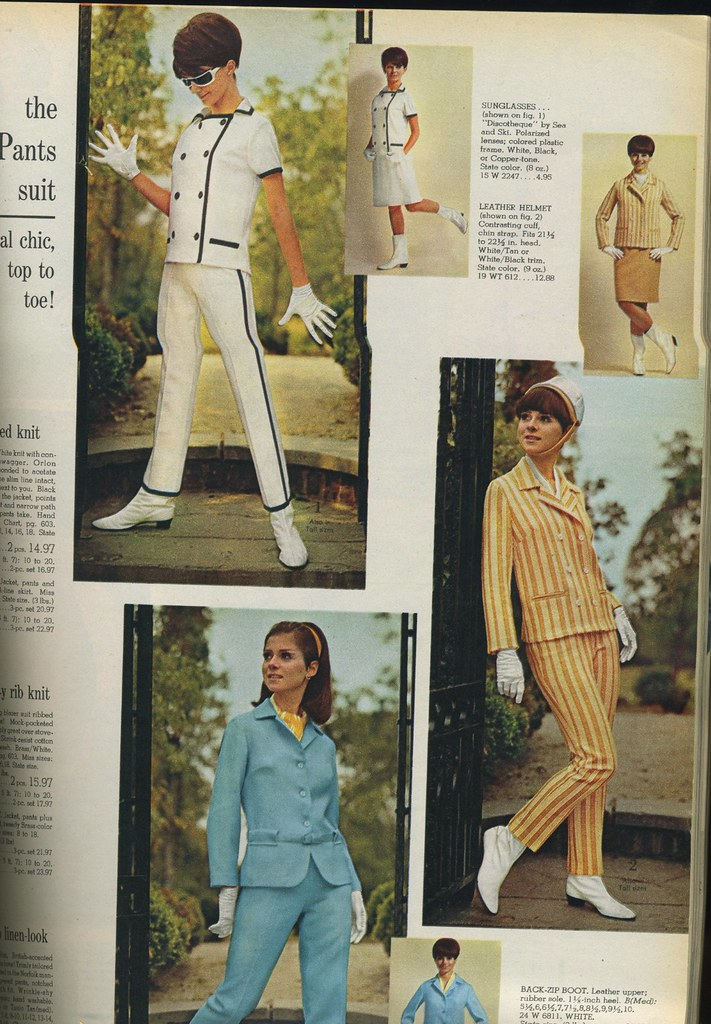Trouser Conversion Chart: Spiegel 1966 womens pants suits | genibee | Flickr,Chart