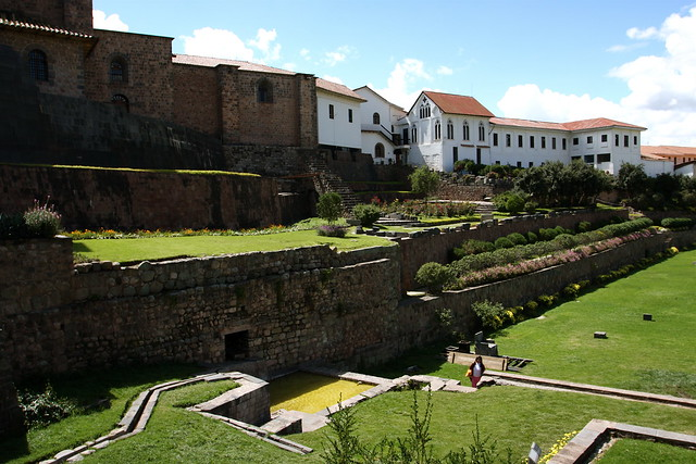 jardin sagrado coricancha cusco flickr photo sharing