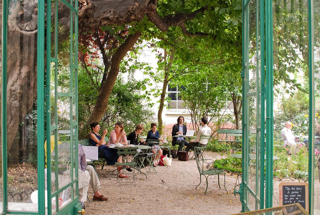 Salon de th mus e de la vie romantique paris 9 me et si - Musee de la vie romantique salon de the ...
