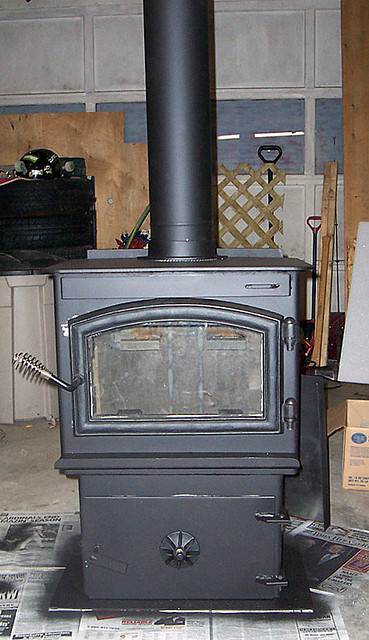 Wood Coal Stove By C Podschelne I Used My Miller