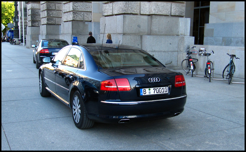 Audi A8 Security Personenschutz Bka Police Car Stephan