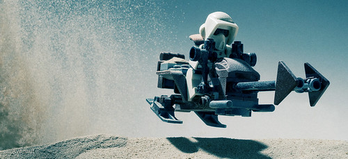 Sand Speeder Bike with Sand Scout | by Avanaut