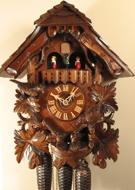8307 chalet cuckoo clock 8307 13 x 16 x 9 beautifu flickr - Cuckoo bird clock sound ...