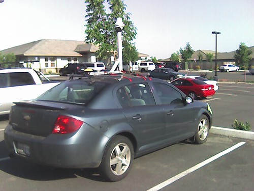 the google street view car in Chico. | by aerocha