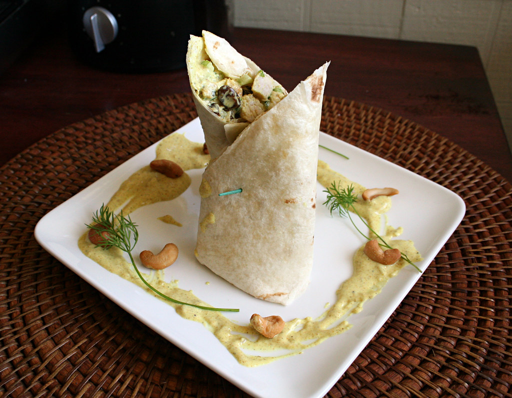Curry Chicken Wrap Whole Foods