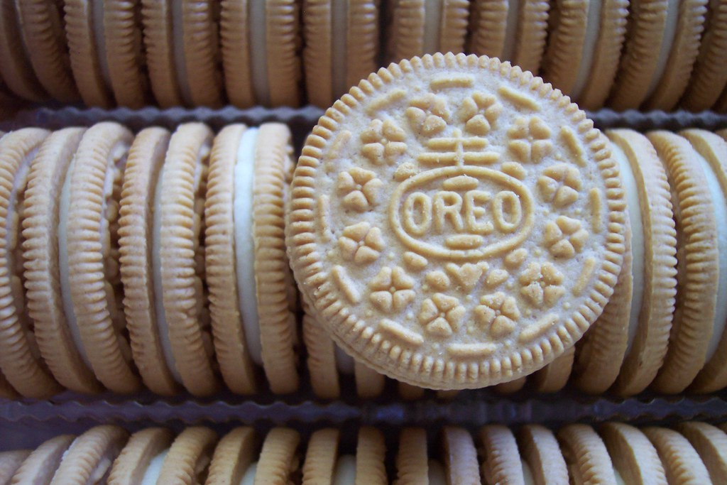 vanilla Oreos | Ready to be crushed, mixed with cream cheese…