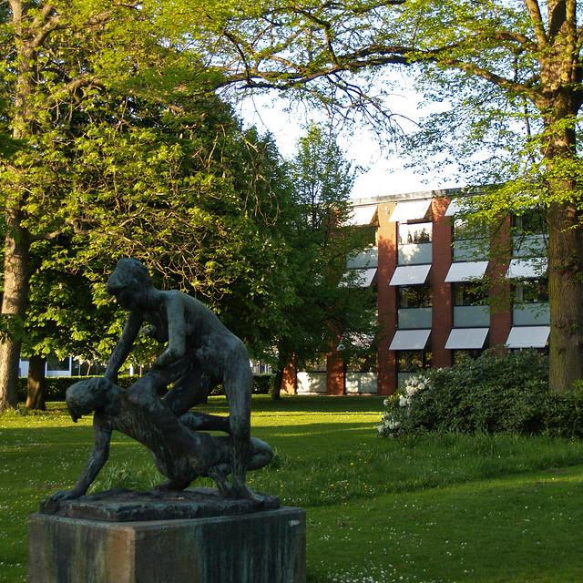 arne jacobsen, glostrup town hall, 1953-1959   Flickr - Photo Sharing!
