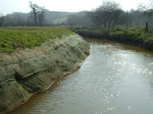 River Bank Protection The Eastern Yar Is The Longest