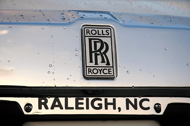 Rolls Royce Phantom Rear Badge Taken At Rolls Royce