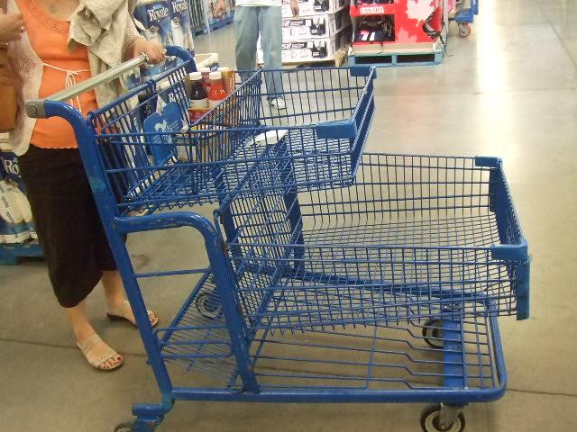 shopping cart costco biggest yet coolest shopping cart i flickr. Black Bedroom Furniture Sets. Home Design Ideas