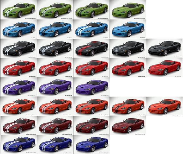 2008 Dodge Viper Color Combinations | 2008 Dodge Viper Color… | Flickr