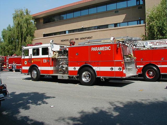 Fire Department In Redwood City Ca