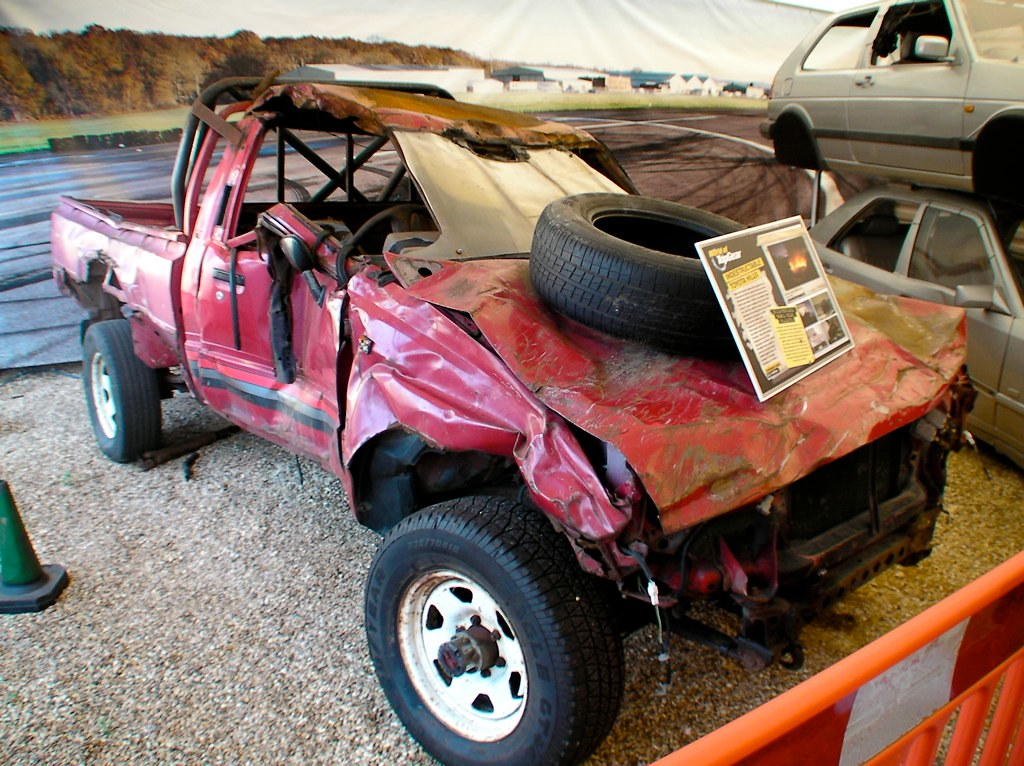 Top Gear Indestructible Toyota Pickup Adriancockcroft