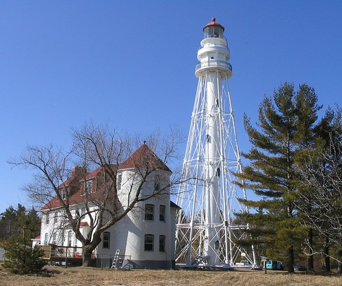 Rawley Point Lighthouse in the Spring | by pmarkham