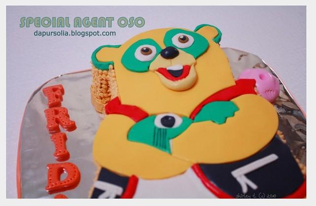 Cartoon Flash Cake Topper