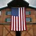 American Flag, American Barn