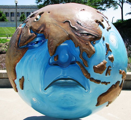 Cool Globes Chicago Sad Earth | by JohnLeGear