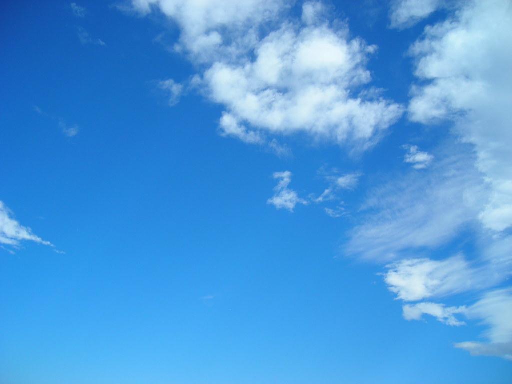 Blue sky 2 blue sky with clouds Fabio Marini Flickr