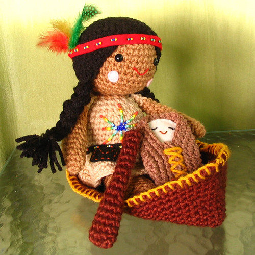 Native American Doll | by EureekasWindow