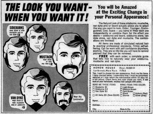 Vintage Ad #285: The Look You Want - When You Want It! | by jbcurio