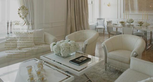 The plaza versace living room nian flickr - Versace living room design ...