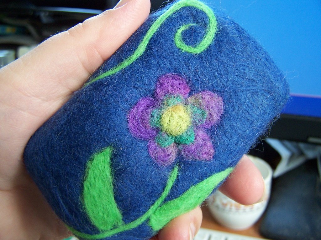 needle felted soap | When felt crafts go crazy :o ...