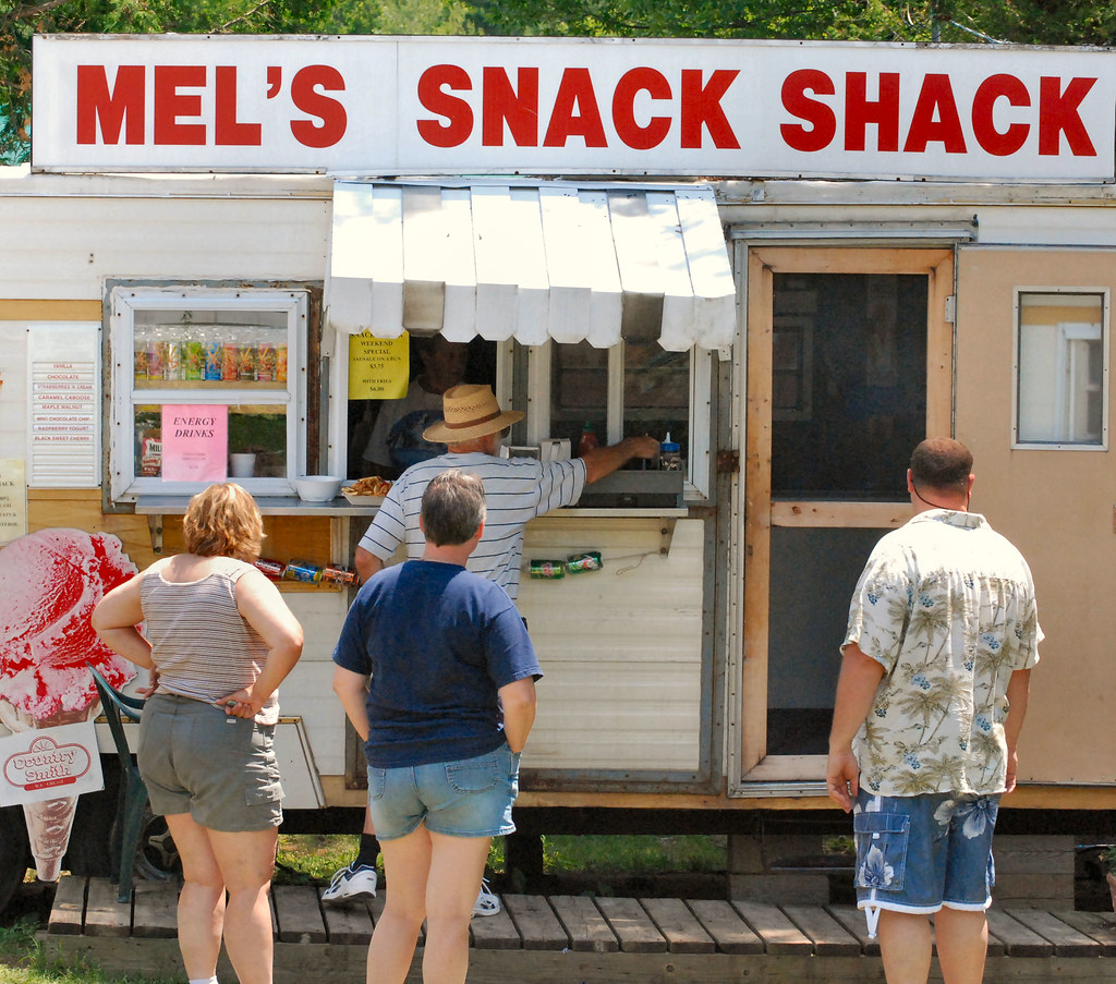 Mel 39 s snack shack available for sale not just a roadside for Mel s fish shack
