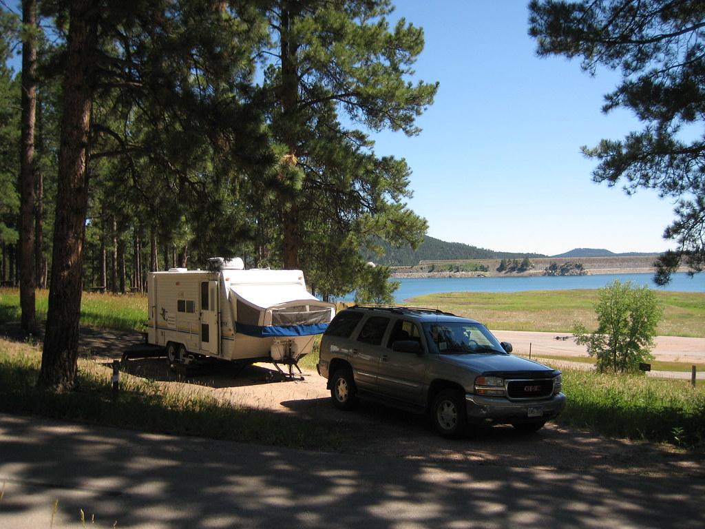 July 2007 vacation 154 the campground at pactola lake for Pactola lake cabins