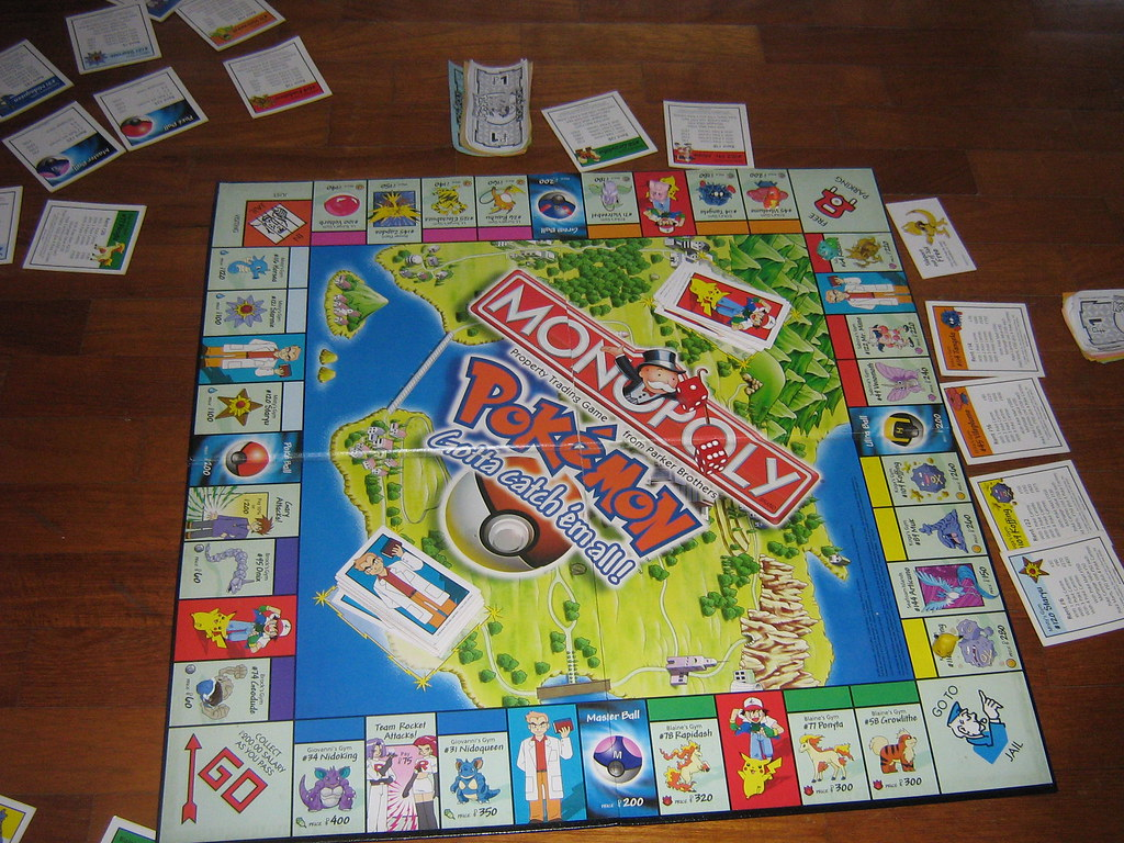 Pokemon Monopoly Anleitung