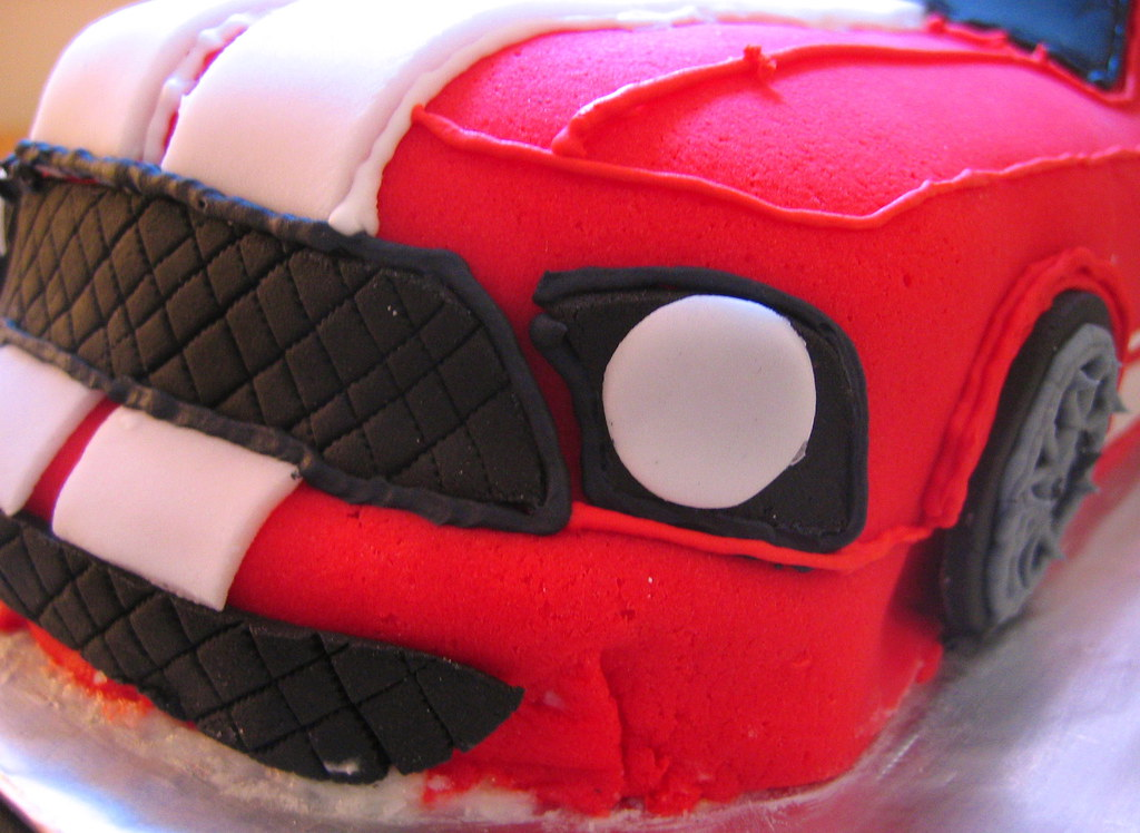 Mustang Svt Cake Mustang Svt Made Out Of Lemon Cake With