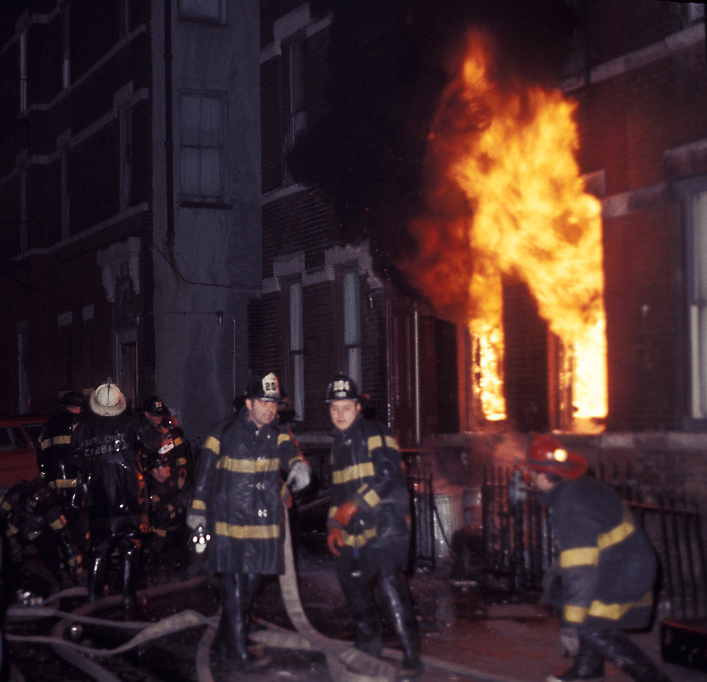 Fdny Heavy Fire Fdny Vintage 1972 Sunset Park Section Of