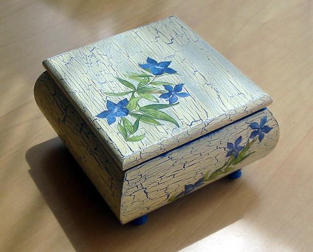 Cajas de madera flickr - Craquelado de madera ...