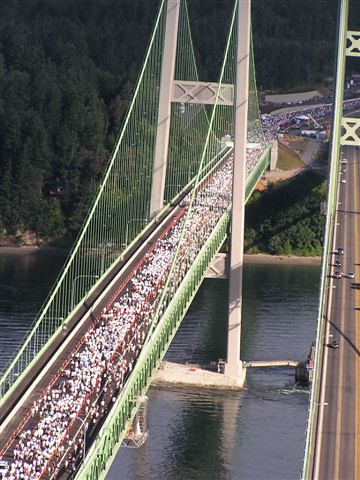 Tacoma Narrows Bridge Opening Day - MultiCare Run | The ...