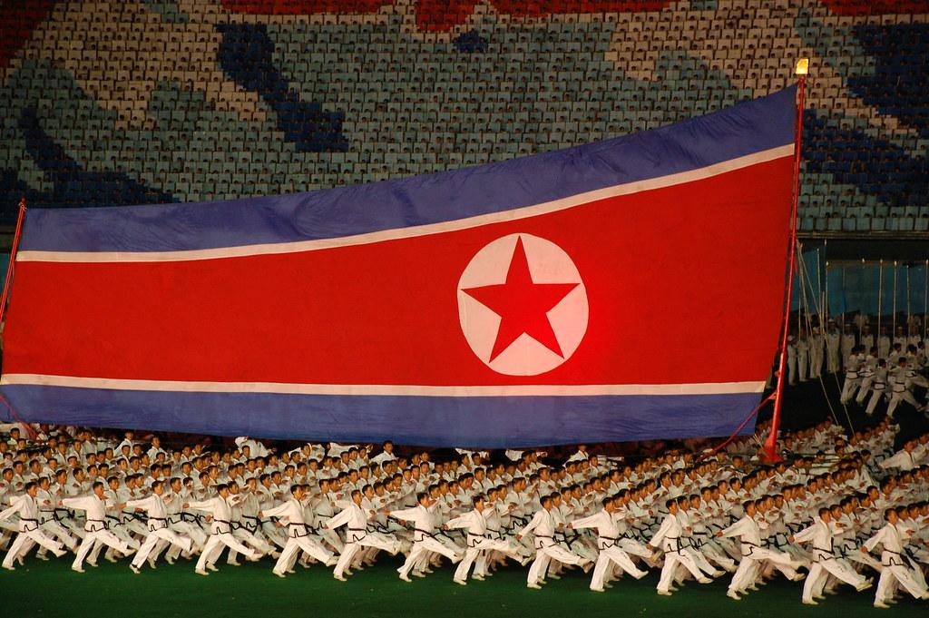 Slávnosti v Severnej kórei