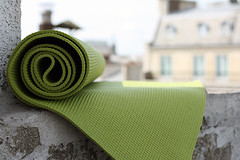 yoga mat | by David Lebovitz